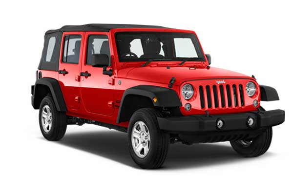 Formentera Moto Rent - Jeep Wrangler Long Body
